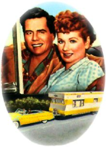 Lucy Ball & Desi Arnez Long, Long Trailer the Movie