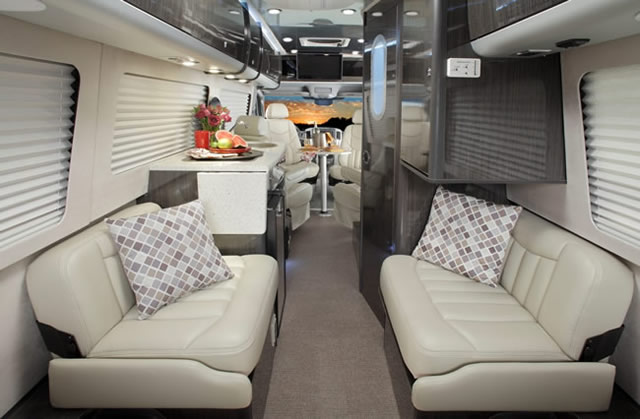 2011 Airstream Interstate 3500 Class B motorhome on a