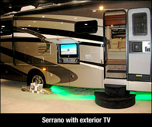 Workhorse Front Engine Diesel Chassis Motorhomes at Florida RV Show