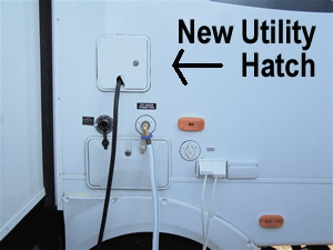 New power cable hatch