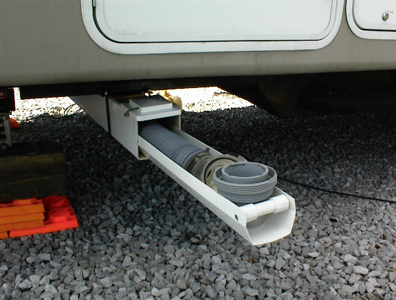 Rv Sewer Hose Storage