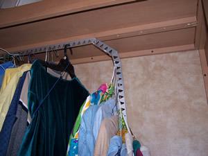 Easy Rv Closet Rod Upgrade